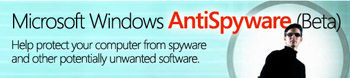 Free Microsoft anti-spyware software