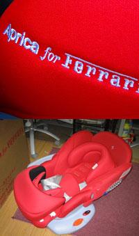 Baby Ferrari seat