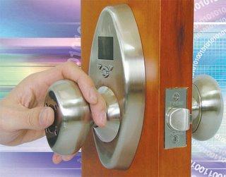Biometric Door Knob
