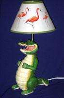Gator lamp