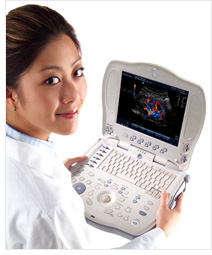 GE Logiq Book XP (Image courtesy GE Healthcare website)