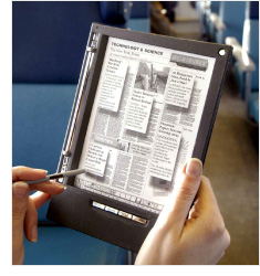iRex Iliad E-Reader (Image courtesy iRex Technologies)