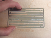 credit card sized lockpick kit