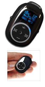 Pebble 1Gb MP3 Player (Image courtesy Advanced MP3 Players website)