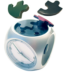 Puzzle Alarm Clock (Image courtesy Bim Bam Banana website)