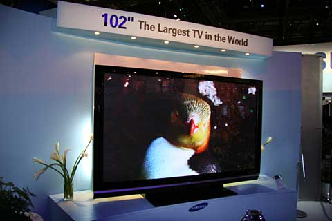 Samsung 102 inch plasma