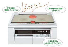 sanyo speaking stove