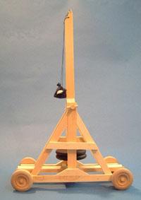 Tabletop Trebuchet Plans