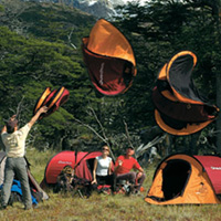 tent By Tanya Palta & 2Seconds: Self-Made Tent | OhGizmo!