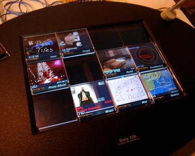 Sony Data Tiles