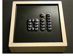 Ferrofluid Display (Image courtesy Berlin University of the Arts)
