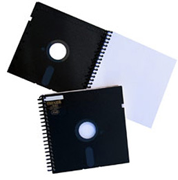 Floppy Note Book (Image courtesy Acorn Studios)