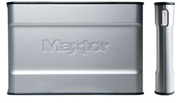 Maxtor OneTouch III Mini Edition (Image courtesy Maxtor)
