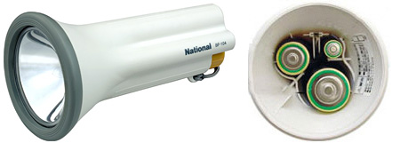 National Multi-Battery Flashlight (Image courtesy National website)