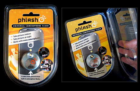 Phlash - Packaging (Image property of OhGizmo)