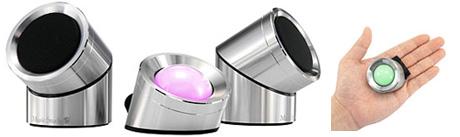 Stripy Speakers (Image courtesy Firebox.com)