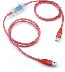 USB Data Link Transfer Cable (Image courtesy ThinkGeek)