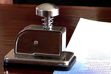 staplless stapler