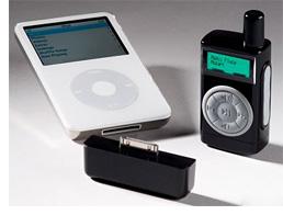 Hammacher Schlemmer iPod Remote With Display (Image courtesy Hammacher Schlemmer)