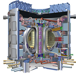 ITER Fusion Reactor (Image courtesy Iter.org)
