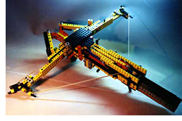 LEGO Crossbow (Image courtesy Alexei Berteig)
