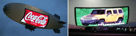 A-170 Video Lightsign Airship (Images courtesy Gizmag & Lightships)