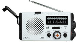 Eton & American Red Cross Emergency Radio (Image courtesy NPR Shop)