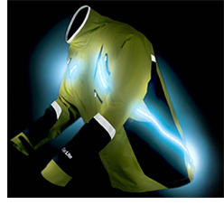 Strobe-Light Safety Gear (Image courtesy Bright Night USA)