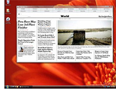 Microsoft Times Reader (Image courtesy Microsoft)