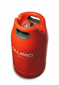pluma redesigned gas tank