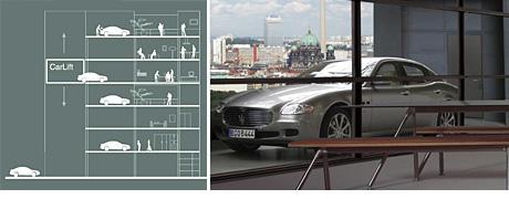 Carloft Berlin car loft apartments with on balcony parking ohgizmo