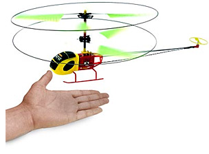 Micro R/C Helicopter (Image courtesy ThinkGeek)