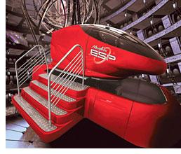 Morphis ESP Motion Simulator (Image courtesy FAO Schwarz)