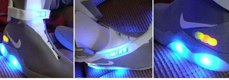 BTTF 2015 Nikes (Image courtesy ebay Seller 123bttf)