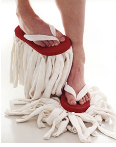 Flip Flop Mop (Image courtesy Marie-Louise Gustafsson)