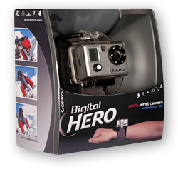 GoPro Digital Hero Waterproof Camera (Image courtesy GoPro)