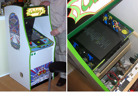 Mini MAME Cabinet (Images courtesy Mushmoth26's Flickr pool)