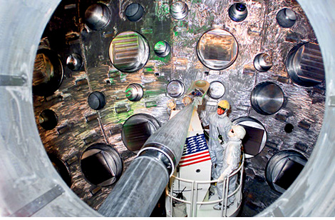 National Ignition Facility Laser (Image courtesy Popular Science)