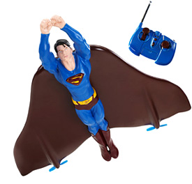 R/C Flying Superman (Image courtesy Toys.About.com)