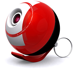 SatuGO Bouncing Ball Camera (Image courtesy SatuGO)