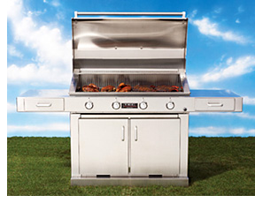TEC Infra-Red Barbecue (Image courtesy TEC)
