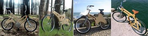 wood bike frames