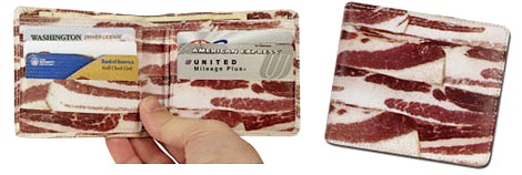 Bacon Wallet (Images courtesy Perpetual Kid)
