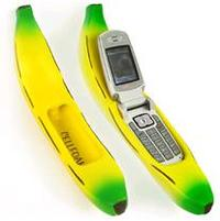 banana cellhone holder