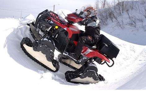Camoplast Giant ATV Track System