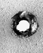 microwave drill bit alumina hole