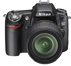 Nikon D80 (Image courtesy Nikon)