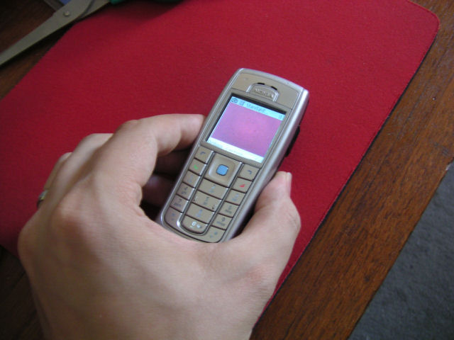 Nokia 6230i Bluetooth Mouse