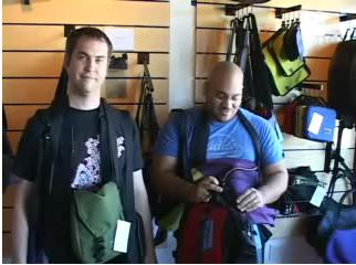 tom bihn and andru edwards