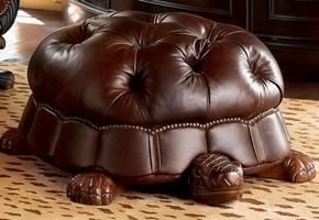 tortoise footstool